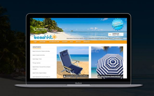 Beachkit Mornington Peninsula Website Design
