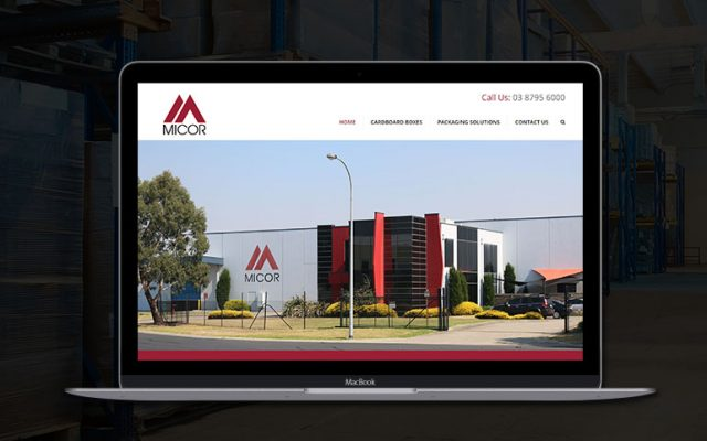 Micor Dandnenong Website Design