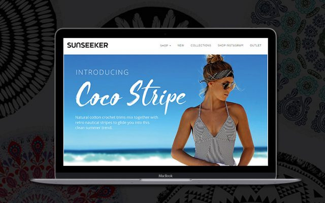 Sunseeker Ecommerce Website
